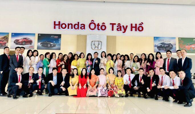 đại lý bán xe Accord Honda Tây Hồ