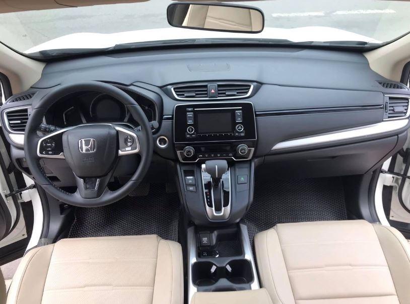 Nội thất bên trong của xe Honda City G