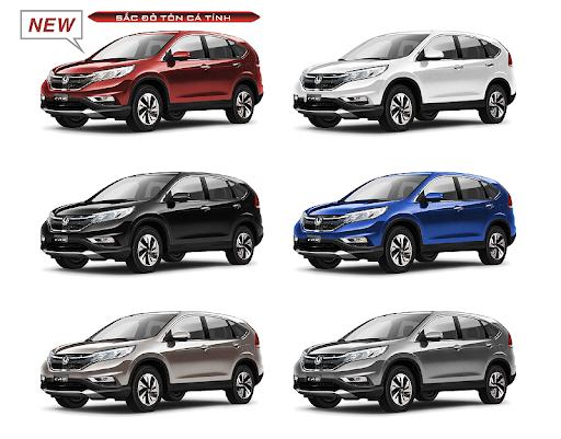 các màu xe Honda HRV