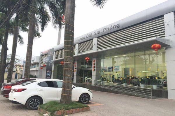 đại lý bán xe City Honda Giải Phóng