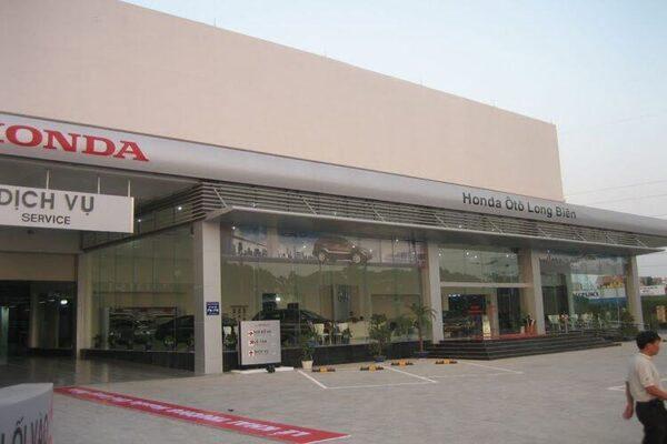 đại lý bán xe City Honda Long Biên