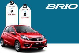 phụ kiện được tặng tại đại lý bán xe Brio