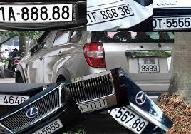 Thủ tục Đăng ký xe ô tô lấy biển số xe