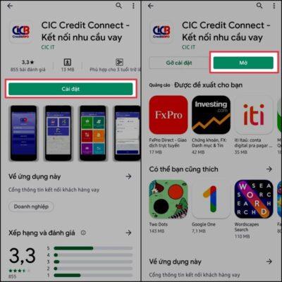 Kiểm tra nợ xấu cá nhân qua APP trên điện thoại di động