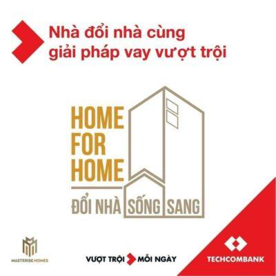 Chương trình ưu đãi của Masterise Homes và Techcombank